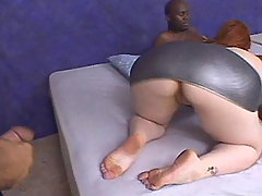 Plumper w big boobs blows hard dick bbw porn