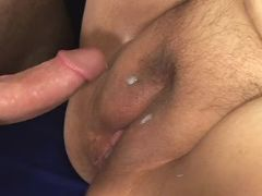 Huge woman gets cum on fat pussy bbw porn
