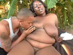 Black fatty spoils chocolate friend bbw porn