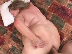 Huge mature gets fuck in anal hole bbw porn