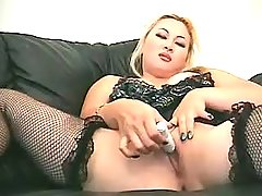 Sex addicted fatty gets off in bed bbw porn